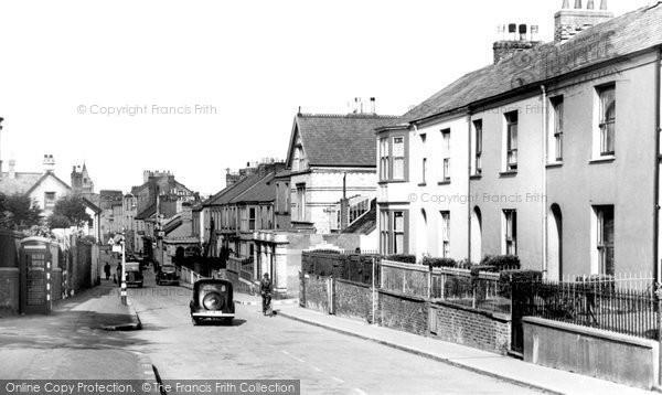 Barnstaple, Bear Street c.1940