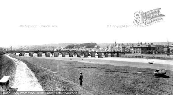 Barnstaple, Bridge 1890