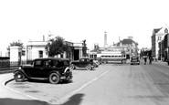 Barnstaple, Bus Station c.1950