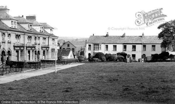 Barnstaple, Ebberly Lawn c.1950