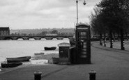 Barnstaple, Embankment c.1950