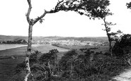 Barnstaple, From Anchor Woods 1919