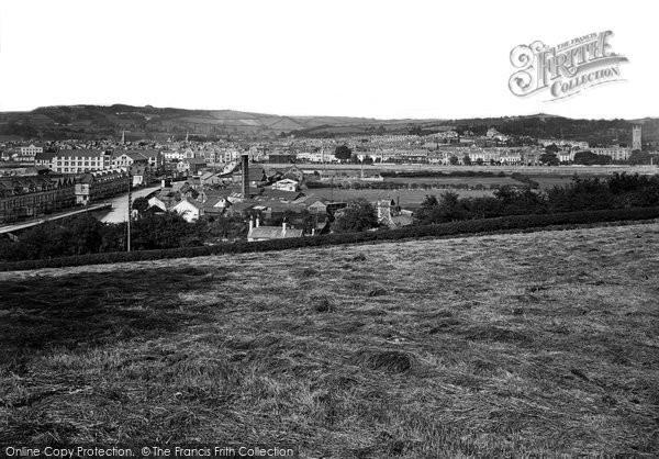 Barnstaple, From Hayfield 1919