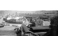 Barnstaple, from the Railway Station 1894
