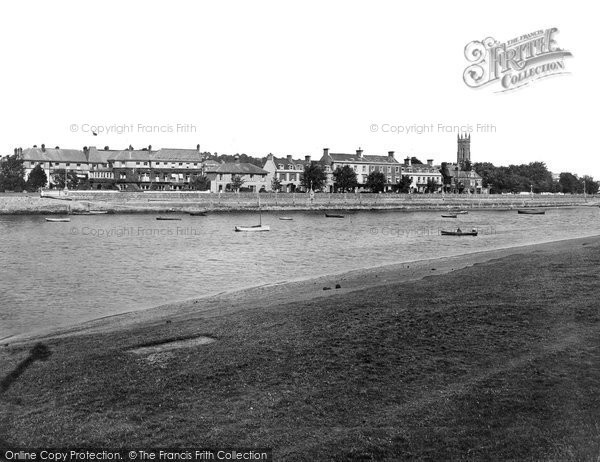 Barnstaple, From The River Taw 1919
