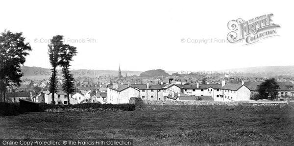 Barnstaple, Green And Trinity Church c.1871