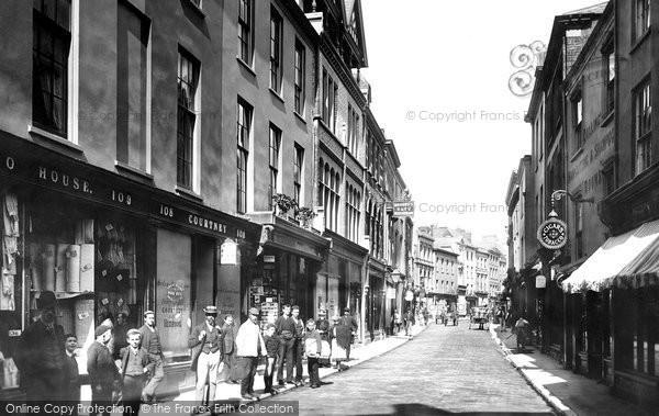 Barnstaple, High Street 1894