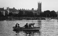 Barnstaple, Holy Trinity Church And  The River Taw 1935