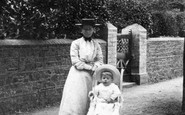 Barnstaple, Mother And Baby 1906