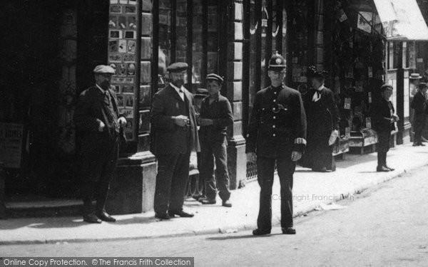 Barnstaple, Policeman 1903