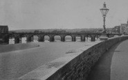 Barnstaple, River Taw And Bridge 1900