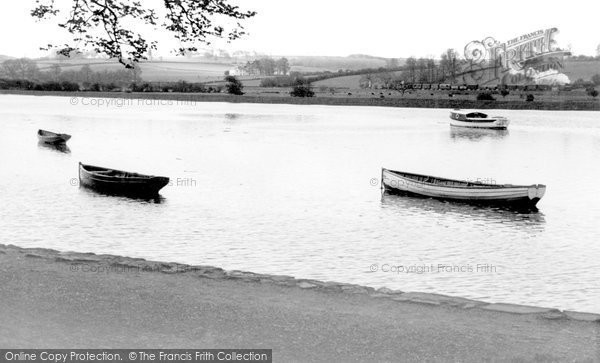 Barnstaple, River Taw c.1950
