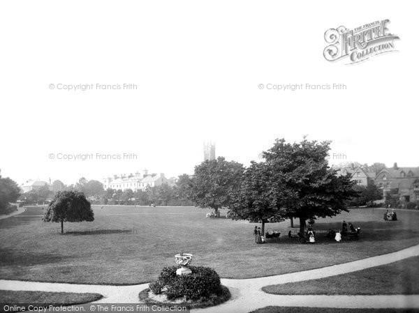 Barnstaple, Rock Park 1890