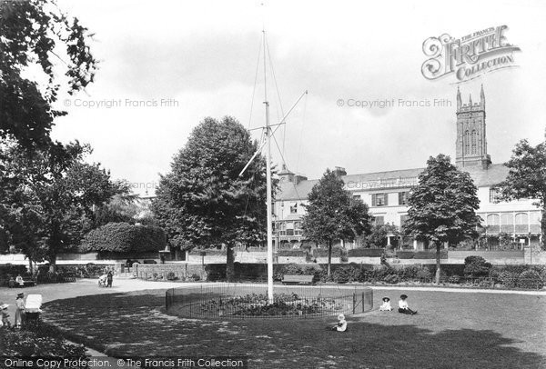 Barnstaple, Rock Park 1912