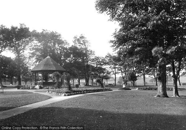 Barnstaple, Rock Park 1923