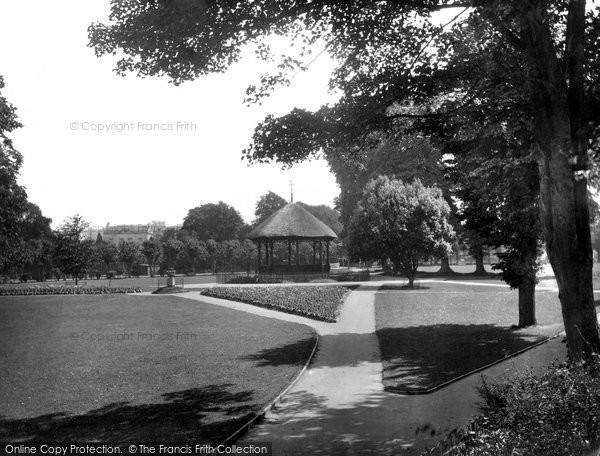 Barnstaple, Rock Park 1935