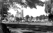 Barnstaple, Rock Park c.1955