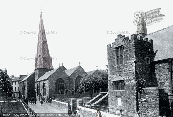 Barnstaple, St Peter's Church And St Anne's Chapel 1890