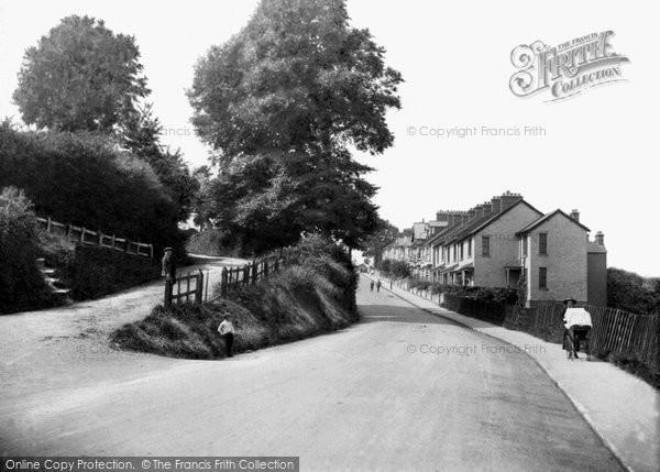 Barnstaple, Sticklepath, Showing Old Bideford Roads 1913