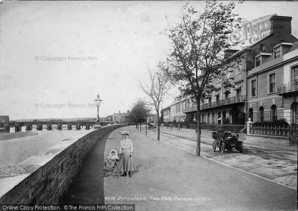 Barnstaple, Taw Vale Parade 1900