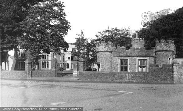 Barnstaple, The Castle c.1955