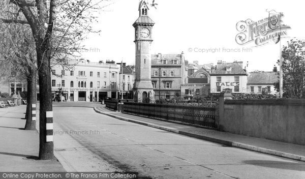 Barnstaple, The Clock Tower c.1940