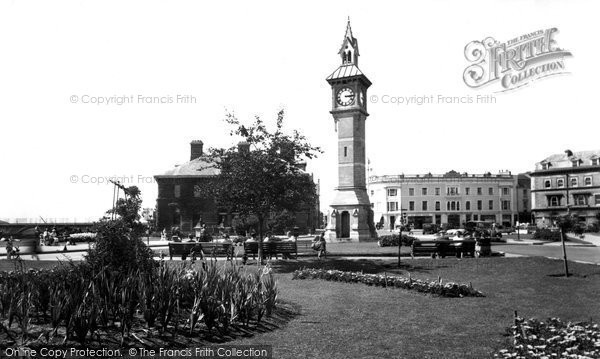 Barnstaple, The Clock Tower c.1955