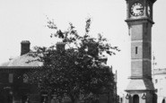 Barnstaple, The Clock Tower c.1955