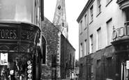 Barnstaple, The Crooked Spire, Parish Church 1936
