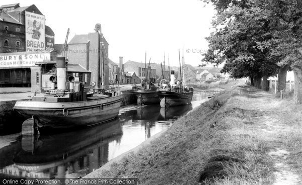 Barnstaple, The Docks 1936