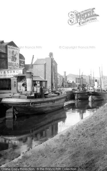 Barnstaple, The Docks 1936