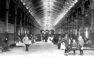 Barnstaple, The Pannier Market 1903
