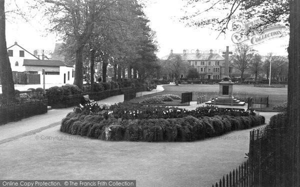 Barnstaple, The Park c.1950