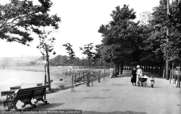 Barnstaple, The Promenade 1890