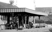 Barnstaple, The Railway Station 1894