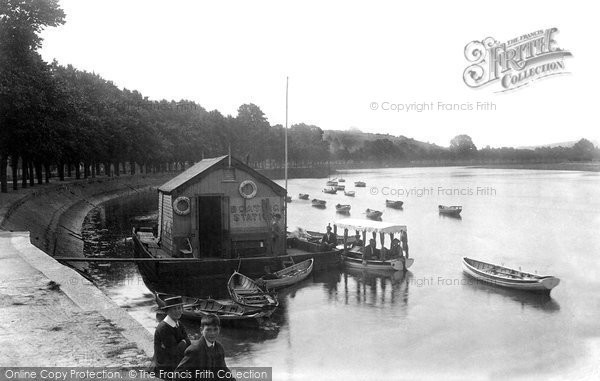 Barnstaple, The River Taw 1912