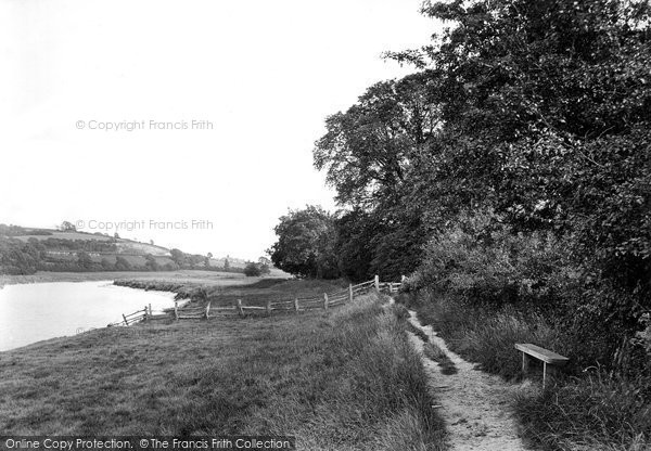 Barnstaple, The River Taw 1919