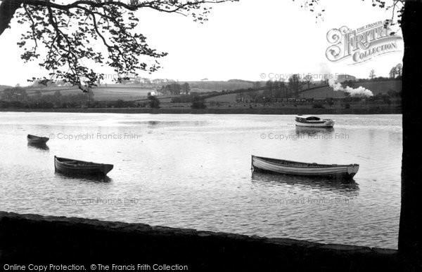 Barnstaple, The River Taw c.1950