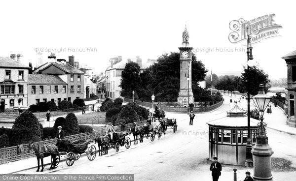 Barnstaple, The Square 1903