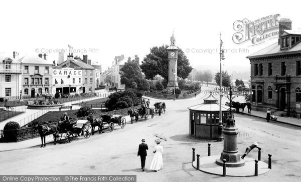 Barnstaple, The Square 1912