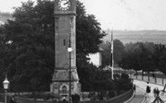 Barnstaple, The Square, Clock Tower 1903