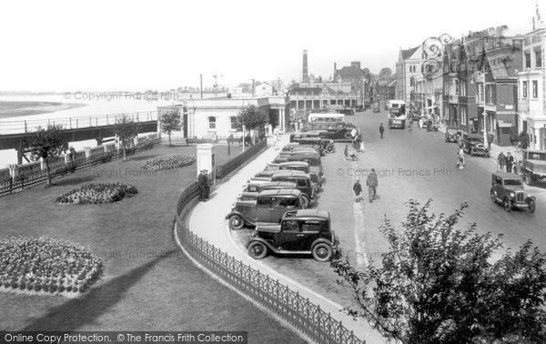 Barnstaple, The Strand 1935