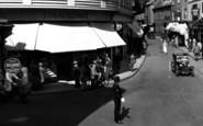 Barnstaple, Traffic Policeman, Boutport Street 1935
