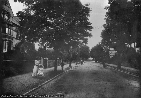 Barnstaple, Victoria Road 1906