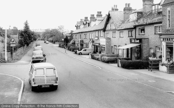 Barnt Green, Hewell Road c.1965