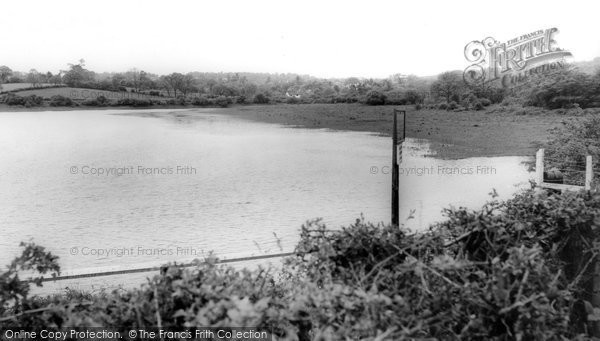 Barnt Green, Lower Bittell Reservoir c.1965