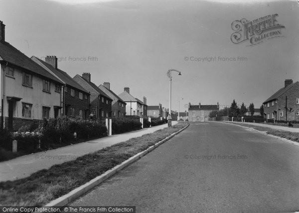 Barnton, Manor Drive c.1955