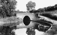 Barnton, The Tunnel And Canal c.1955
