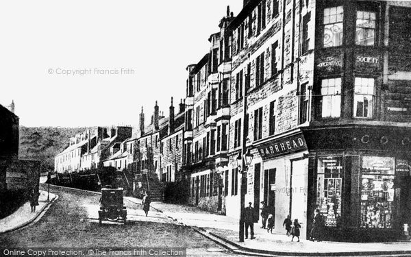 Photo of Barrhead, Graham Street c1918