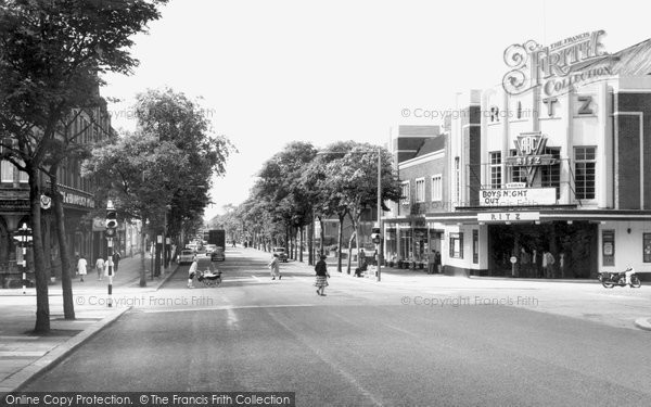 Barrow In Furness, Abbey Road c.1960